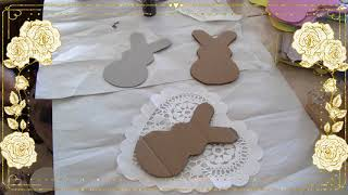 An Easy DIY For Easter/FarmHouse Bunnies!