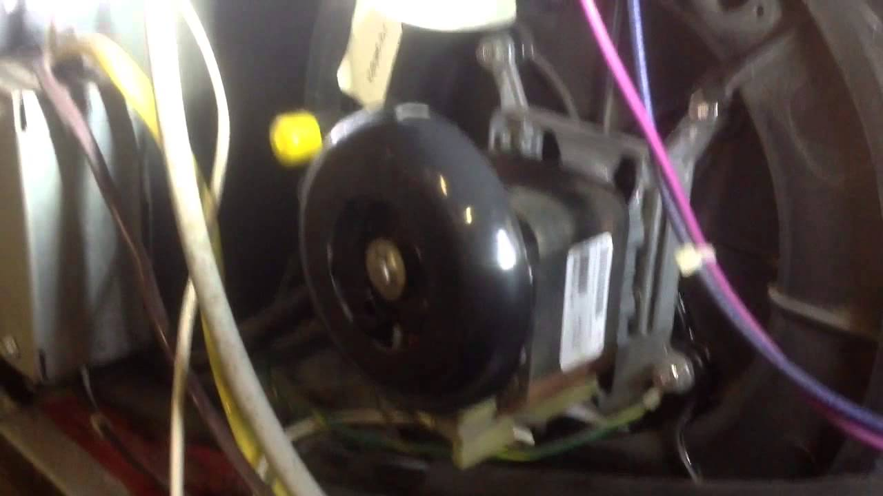 small resolution of diy how to goodman furnace draft inducer stuck