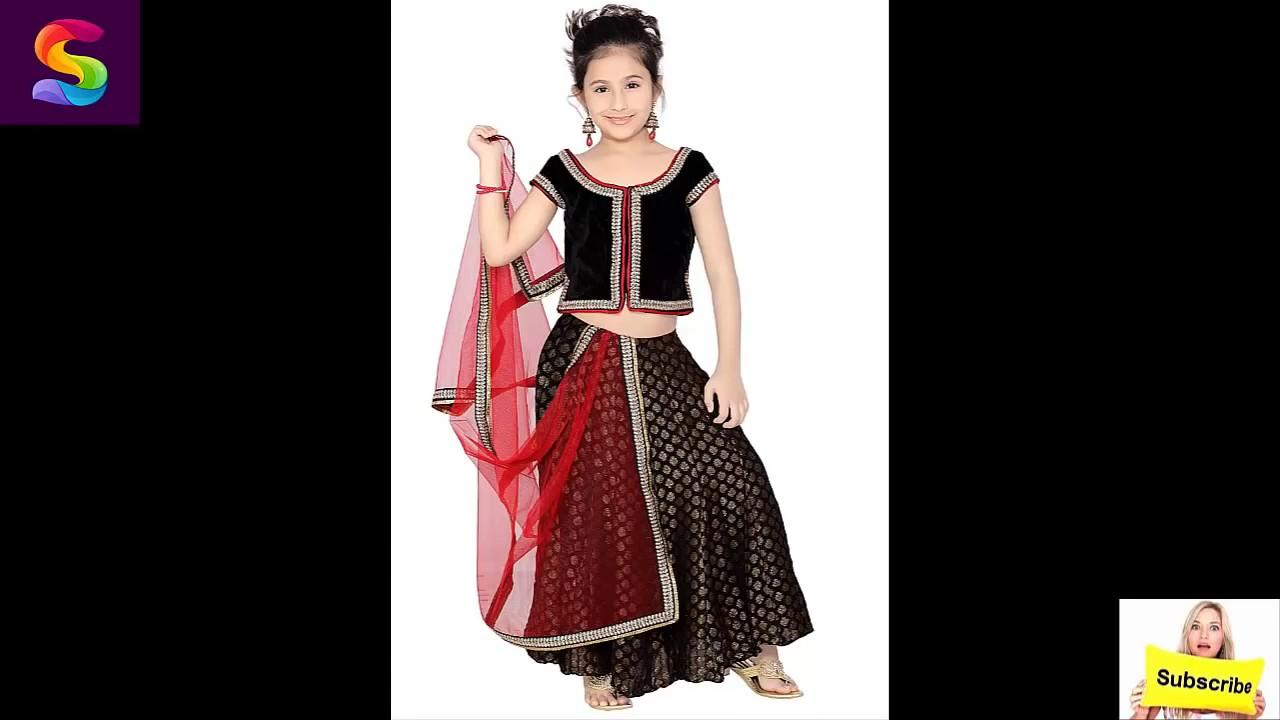 a5e979627d Baby Girl's Lehenga designs 2017 Pakistani Indian - YouTube