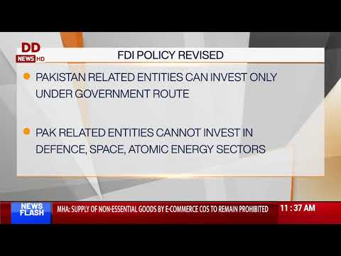Govt amends FDI policy to curb opportunistic takeovers of Indian companies
