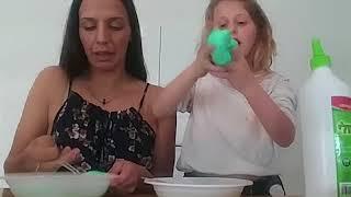 הכנת סליים עם אמא