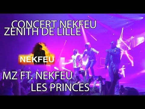 MZ - LES PRINCES FT. NEKFEU | CONCERT NEKFEU ZENITH LILLE | 01/04/16