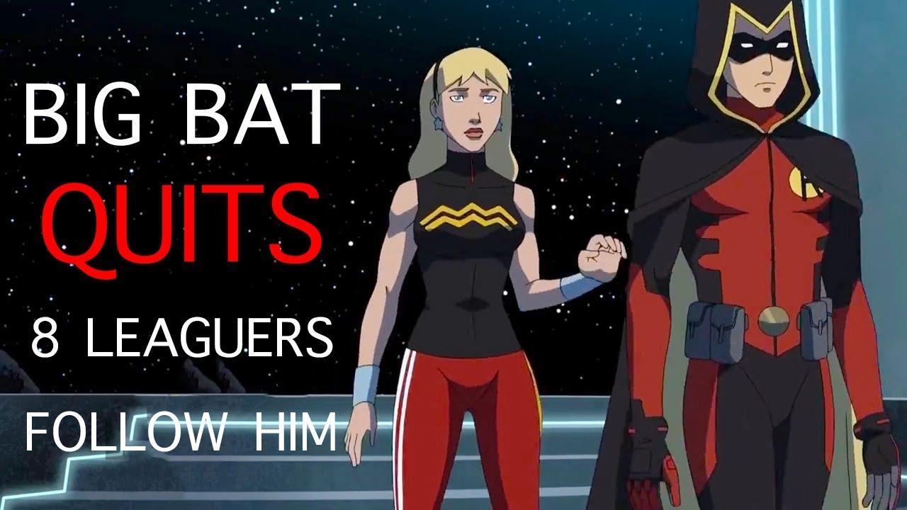 Download Batman Quits - 8 League Members Follow Him : Young Justice Season 3