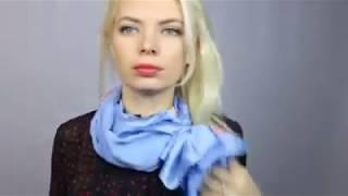 3 САМЫХ красивых способа завязать шелковый платок! Делюсь своим секретом! ViVa DiVa
