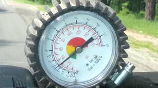 Проверка давления в топливной рампе двигателя AGU
