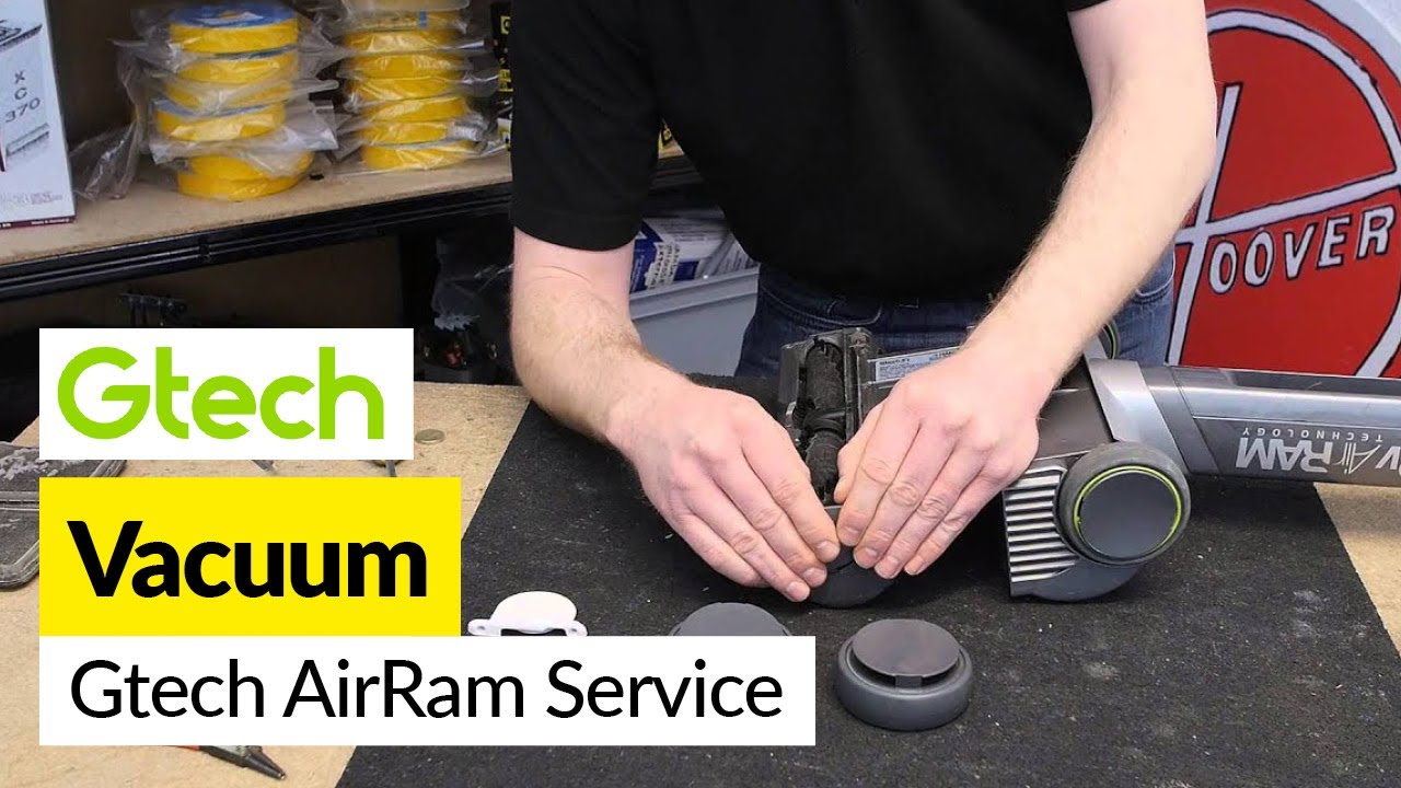 How To Service A Gtech Airram Vacuum Cleaner
