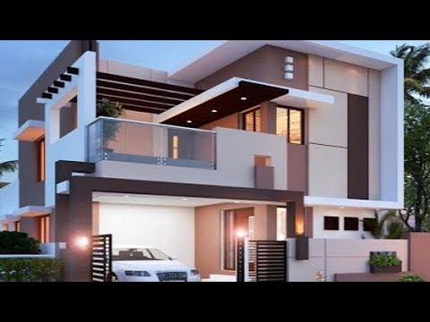 Desain Rumah Modern Minimalis 2 Lantai Terrbaru 2019 Keren - YouTube