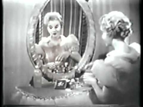 Shocking 1950s Cosmetics Ad