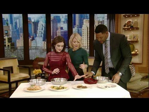 Lucy Hale Eats Weird Food