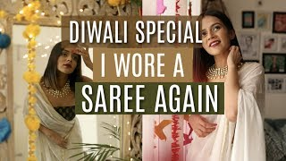 Getting Ready For my Diwali Party! | Komal Pandey