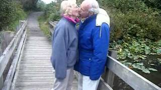 Patty and Wally Pratt in a romantic walk Thumbnail