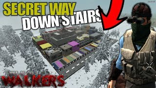 SECRET WAY DOWN STAIRS | WotW MOD 7 Days to Die | Let's Play Gameplay Alpha 16 | S03E30