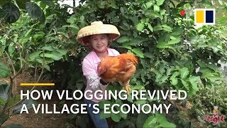How a housewife's vlogging revived a Chinese village's economy