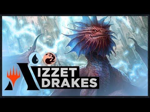 Download Izzet Duplication Drakes Mtg Arena Standard Original Deck