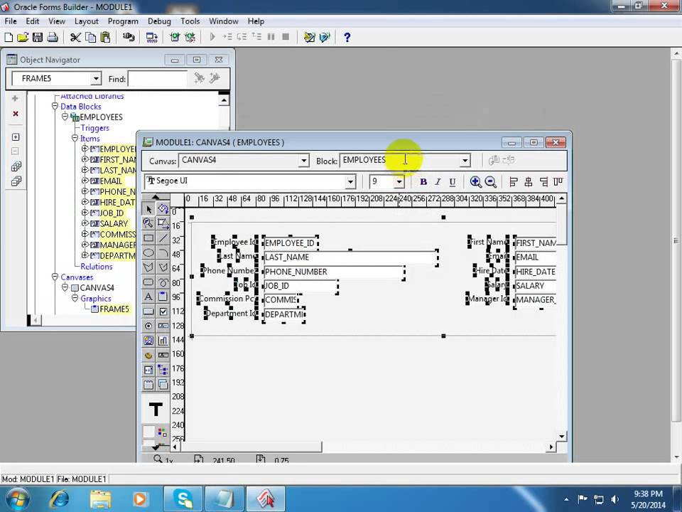 Run Oracle 10g forms with internet explorer - YouTube