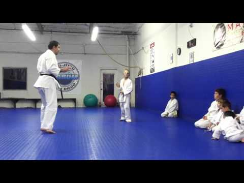 Thumbnail: Teaching Kids Karate and Basic Kids Self Defense in San Diego with Practical Karate