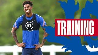 Sancho v Henderson, Shooting Practice & Champions League Players Return 🦁 Inside Training | England