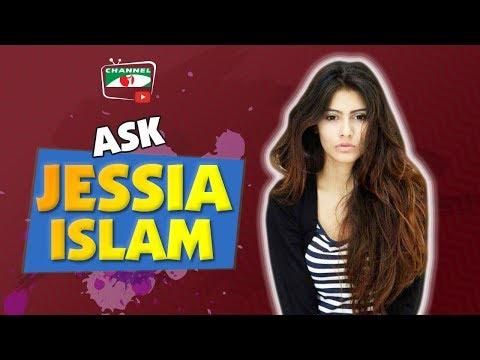 Ask Jessia Islam | Miss World Bangladesh 2017 | Channel i TV