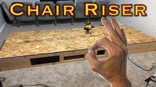 Home Theater Chair Riser - DIY (Part 1)