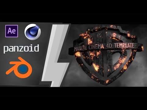 Best 4 Warner Bros Free 3D Intro Template Blender C4D AE Panzoid