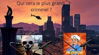 GTA ONLINE QUI SERA LE PLUS GRAND CRIMINEL?