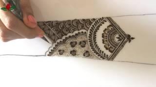 Simple intricate stylish bridal mehendi episode :11