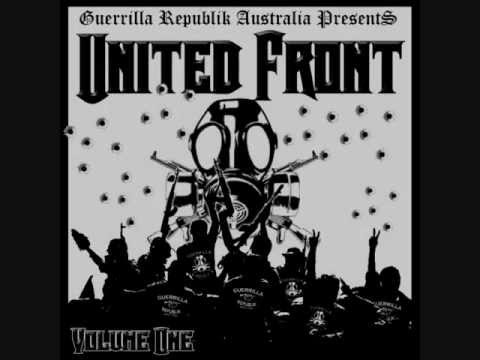 GUERRILLA REPUBLIK AUSTRALIA PRESENTS UNITED FRONT VOL.1