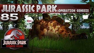 Jurassic Park: Operation Genesis || 85 || Round Plates