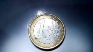เหรียญ 1 ยูโร 1 EURO  HD
