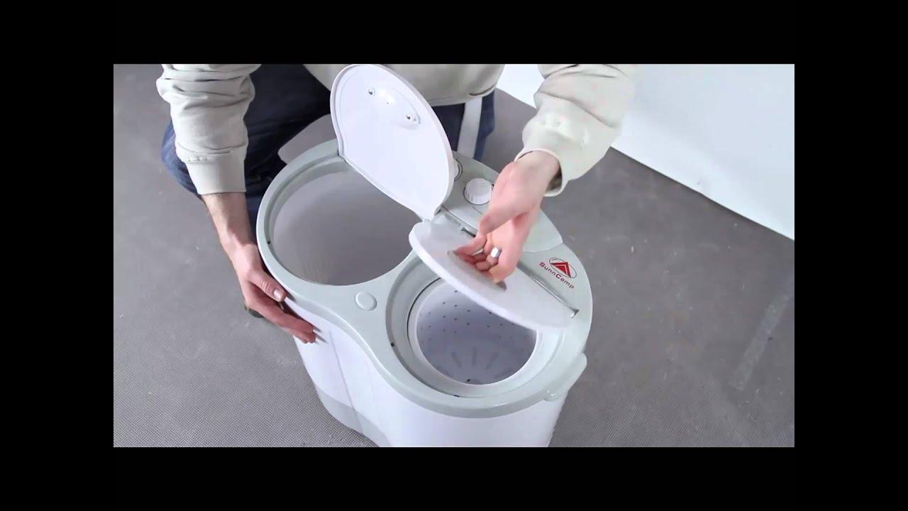 Travel Washing Machine Sunncamp Twin Tub Camping Caravan Washing Machine Youtube