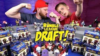 Super Hero Toys Shake Rumble DRAFT - Avengers Infinity War & Spider-Man Homecoming Edition!