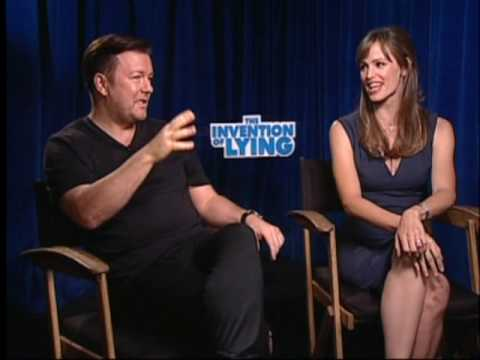 Ricky Gervais, Jennifer Garner and Rob Lowe Interview for THE INVENTION OF LYING