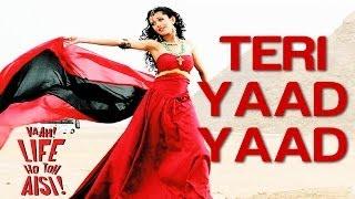 Download Teri Yaad Yaad - Vaah! Life Ho Toh Aisi | Shahid Kapoor & Sanjay Dutt | K.K & Jayesh Gandhi MP3 song and Music Video