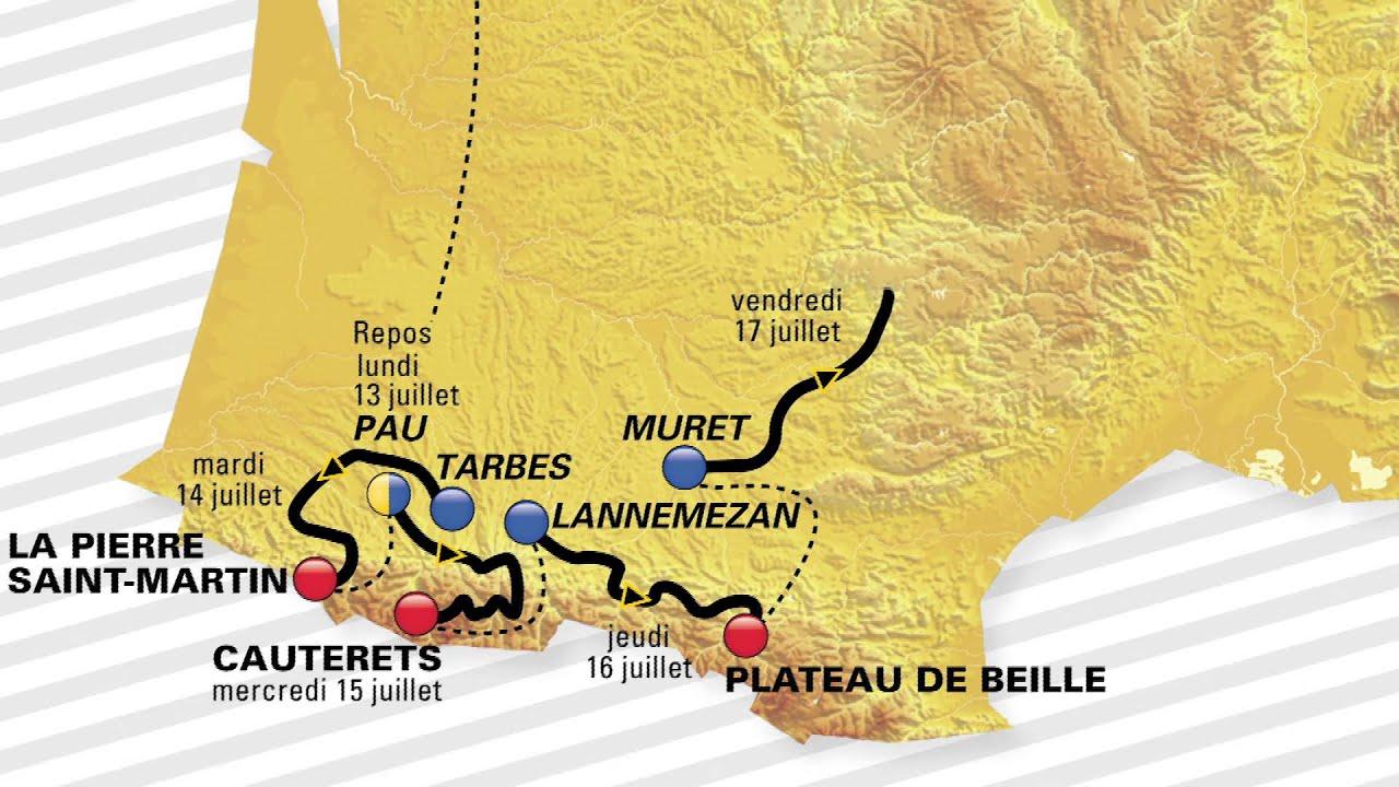 Le parcours du Tour de france 2015 avec ŠKODA - YouTube