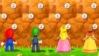 Mario Party 9 - Mario vs Peach vs Luigi vs Daisy - Master CPU