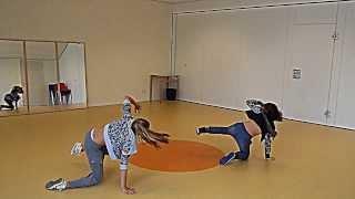 Eva en Simone auditie Junior Dance