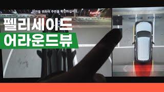 펠리세이드 서라운드뷰 후방카메라 화질 확인