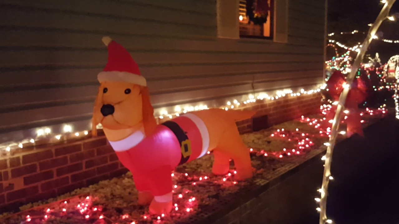 december 2016 sneads ferry nc walk thru christmas lights display - Lafreniere Park Christmas Lights