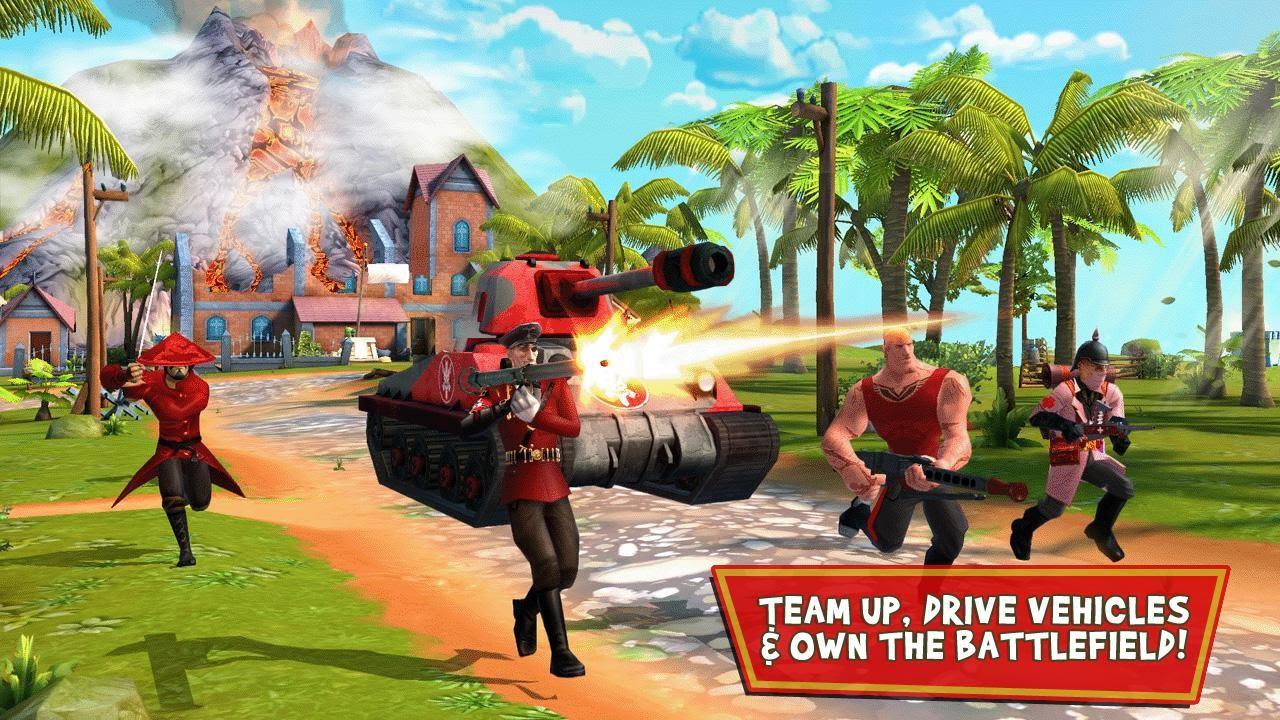 Best Online Games Blitz Brigade Android Ios Gameplay Trailer Youtube