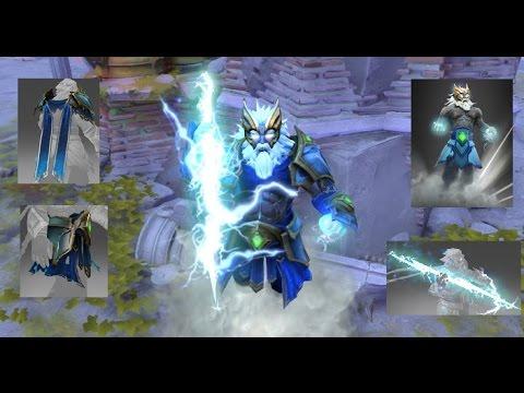 Dota 2 Zeus Mix Set Arcana Tempest Helm Of The Thundergod