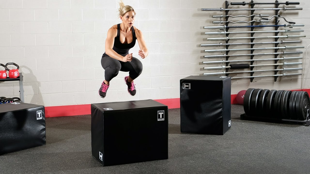 Soft-Sided Plyo Box Exercises (BodySolid com)