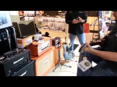 Orange Micro terror at Funky Munky Music Shawnee Kansas