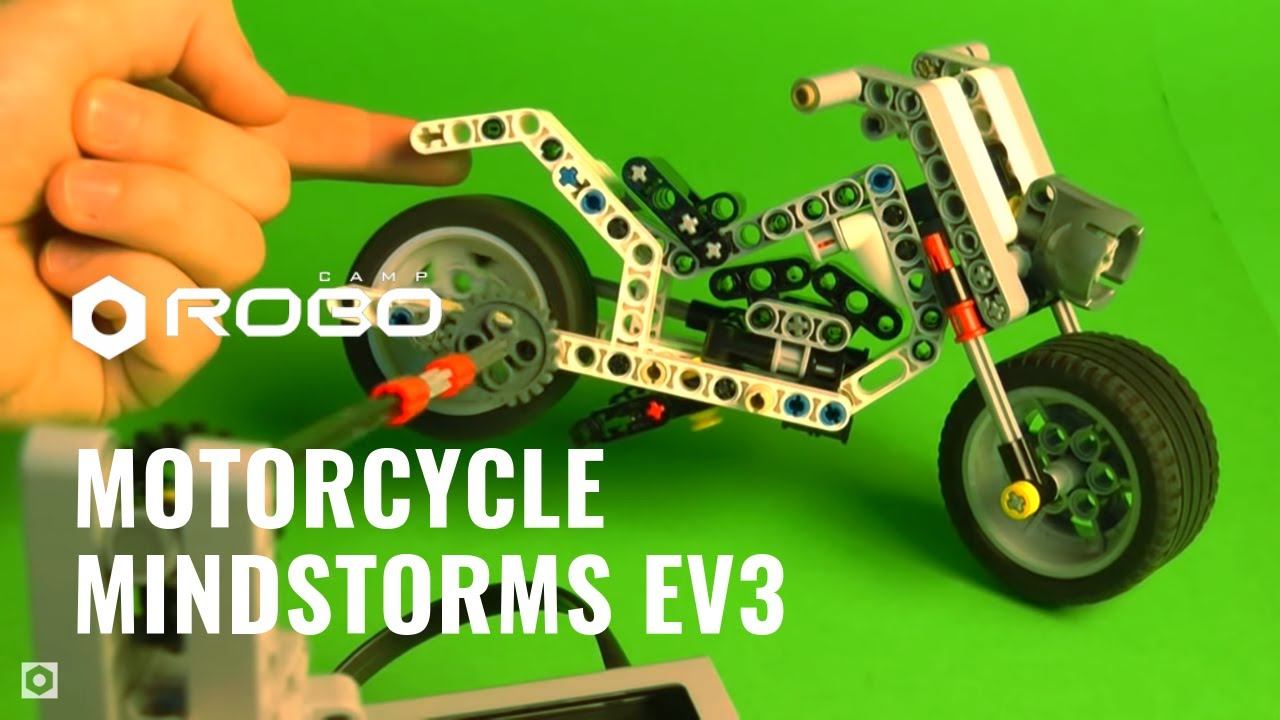 Motorcycle Lego Mindstorms Ev3 Education Youtube