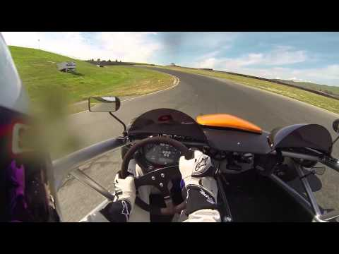 How not to take turn 4 @ Sears Point Sonoma Raceway