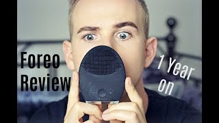 Foreo Luna 2 for men 1 year UPDATE //\\ Does it work? Is it worth it?