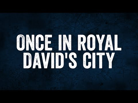 Once in Royal David's City - Christian Music with lyrics - Christmas Song