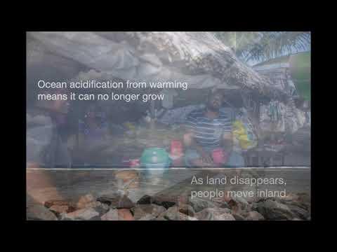 Combating climate change in Kiribati