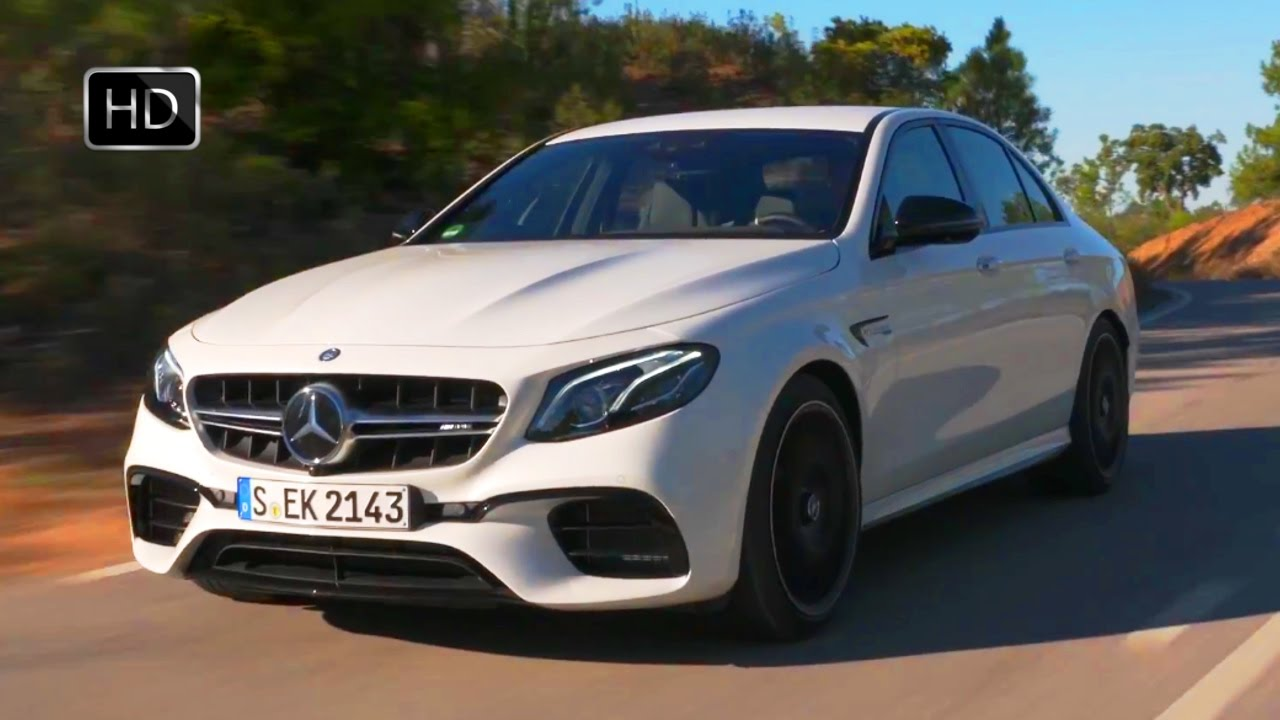 2018 Mercedes-AMG E 63 S 4MATIC+ Sedan (White) Road