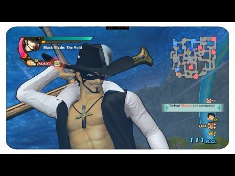 One Piece  Pirate Warriors 3 Legend of zorro Mihawk