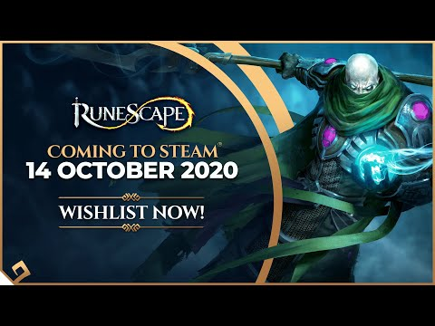 RuneScape is coming to Steam on October 14th!